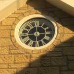 Round Window with Clock Behind 2